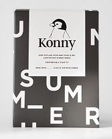 Konny Baby Carrier, Summer Charcoal