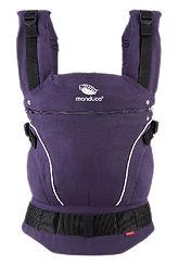 Manduca Pure Cotton Baby Carrier, Purple