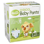 Chikool Air Baby Pants, L, 22pcs