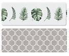 Parklon Multipurpose Mat, Botanic Honey Comb, L15