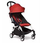 Babyzen YOYO2 6+ Stroller, White Frame, Red