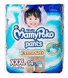 MamyPoko Extra Soft Pants (Boys), XXXL, 14pcs