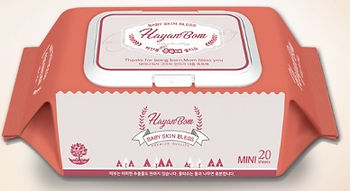 Hayanbom Bless Baby Wipes, Mini, 20s