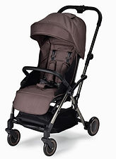 Unilove Slight Lux Baby Pushchair, Metallic Brown