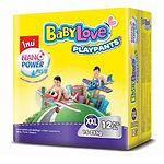 Babylove Playpants Baby Diapers, XXL, 12pcs
