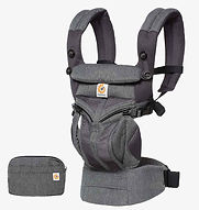 Ergobaby Omni 360 Baby Carrier, Cool Air Mesh, Classic Weave