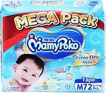 MamyPoko Extra Dry Skin, M, 72pcs