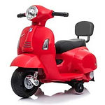 Vespa GTS Mini Electric Ride-On Kids Scooter, Pepper Red