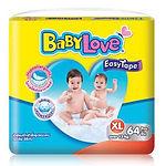 Babylove Easy Tape, XL, 64pcs