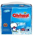 Chikool Baby Ultra Thin Pants, L, 20pcs