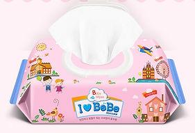 Ilovebebe Pink Wet Wipes, Cap, 100s