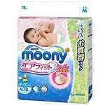 Moony Air Fit Tape, M, 78pcs