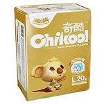 Chikool Gold Baby Diapers, L, 20pcs