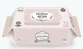 Hayanbom Love Baby Wipes, Refill, 72s