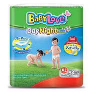 Babylove DayNight Pants Plus, XL, 54pcs