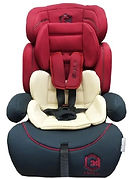 Lucky Baby Evolo Safety Car Seat, Red Blue