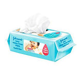 Johnson's Baby Messy Times Wipes, 80s