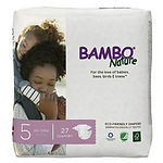 Bambo Nature Baby Diapers, XL, 27pcs