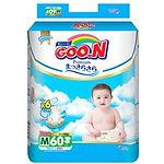 Goo.N Premium Diapers, M, 60pcs