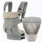Ergobaby 360 All Positions Baby Carrier, Bundle Of Joy, Grey