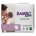 Bambo Nature Baby Diapers, NB, 28pcs