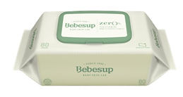 Bebesup Zero Baby Wipes, Standard, 80s