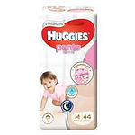Huggies Platinum Pants (Girls), M, 44pcs