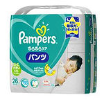 Pampers Baby Dry Pants, XXL, 26pcs