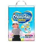 MamyPoko Extra Dry Skin Pants (Girls), XXXL, 14pcs