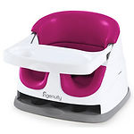 Ingenuity Baby Base 2-in-1 Seat, Pink Flambe