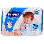 Drypers Wee Wee Dry, NB, 24pcs