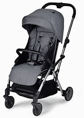 Unilove Slight Lux Baby Pushchair, Stone Grey