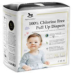 Applecrumby Chlorine Free Pull Up Diaper, XL, 18pcs