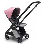 Bugaboo Ant Stroller, Black, Pink Melange