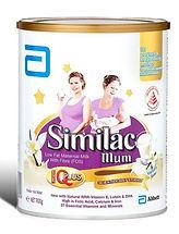 Similac Mum Low Fat Maternal Milk, Vanilla, 900g