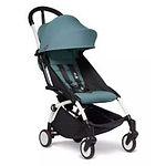 Babyzen YOYO2 6+ Stroller, White Frame, Aqua