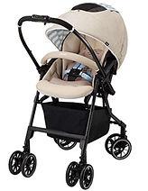 Combi Mechacal Handy 4 Auto cas Plus Stroller, Caf� Beige