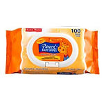 Pureen Baby Wipes (Fragrance Free), 100s
