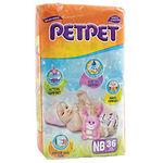 PetPet Value Pack, NB, 36pcs