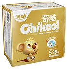 Chikool Gold Baby Diapers, S, 28pcs