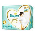Pampers Premium Silk (Premium Care) Pants, L, 34pcs