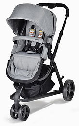 Unilove Touring Pram & Pushchair, Koala Grey