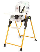 Lucky Baby Party High Chair, Yellow