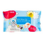 Farlin Wet Wipes for Hand and Mouth, 30s