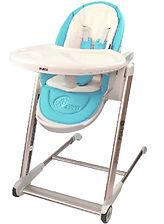 Puku Egg High Chair, Blue
