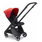 Bugaboo Ant Stroller, Black, Neon Red