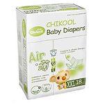 Chikool Air Baby Diapers, XXL, 18pcs