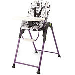 Lucky Baby Party High Chair, Purple