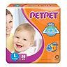 PetPet Tape Diaper, L, 58pcs