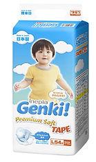 Genki! Premium Soft Tape, L, 54pcs